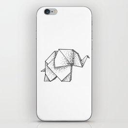 Origami Elephant iPhone Skin