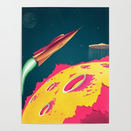 FLYING SAUCERS ATTACK Poster