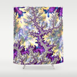 Hallucinatory Fractal Shower Curtain