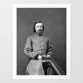 General George Pickett Portrait Art Print