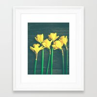 happiness Framed Art Prints featuring Happiness by Olivia Joy StClaire