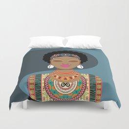 African Queen II Duvet Cover
