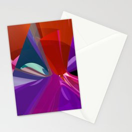 polynomial pattern -6- Stationery Cards