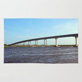 Bridge To Sunset Beach Rug