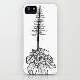 Crystallized Nature iPhone Case