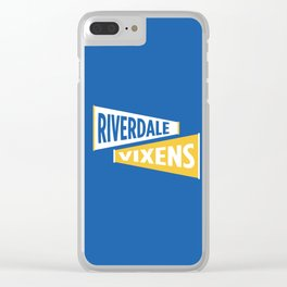 Riverdale High Vixens Clear iPhone Case