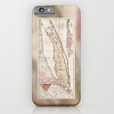 1842 Mather Map of Long Island, New York iPhone 6s Slim Case