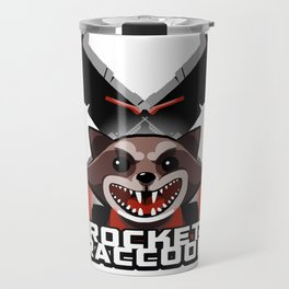 Rocket Raccoon Travel Mug