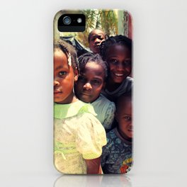 Haiti.  iPhone Case
