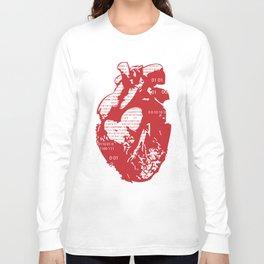 Binary heart Long Sleeve T-shirt