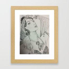 Zoe Jakes of Beats Antique Framed Art Print