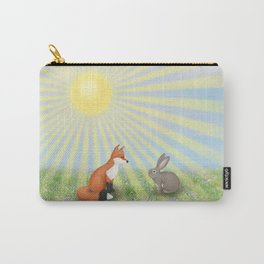 fox and bunny Carry-All Pouch