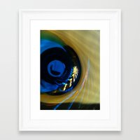 evil eye Framed Art Prints featuring Evil Eye by Jim Marino