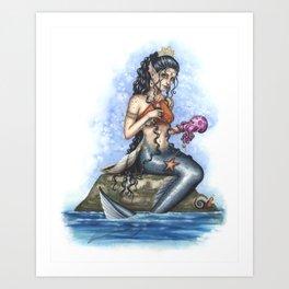 Lirasa - Mermaid Art Print