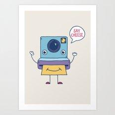 Instant Happy Art Print