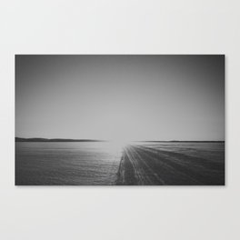 Light on Ice Canvas Print
