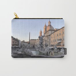 Dawn at Piazza Navona Carry-All Pouch
