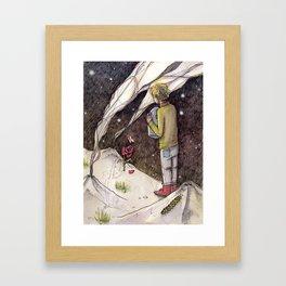 "Le Petit Prince ""Responsible"" Framed Art Print"