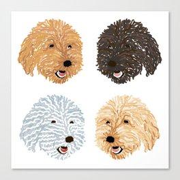 Some Pupz Canvas Print