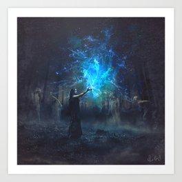 In Salem's Nights Art Print