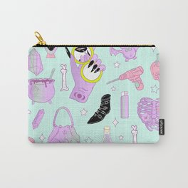 Witchy Pastel Goth: My Favorite Things Carry-All Pouch