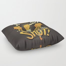 My Shot Floor Pillow