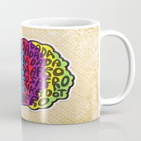 afro Mugs featuring Circus Afro! Circus Afro!  by Brieana