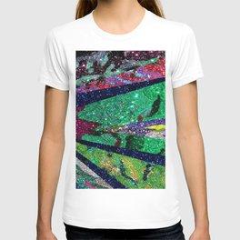 Holiday Mermaid Peacock T-shirt