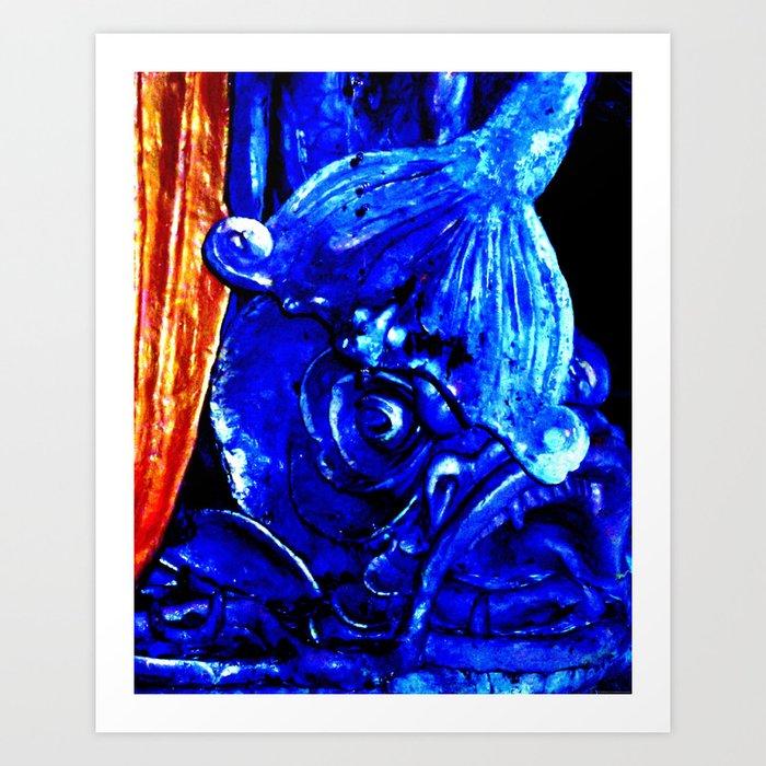 """""""Fish In Reno"""" Art Print"""