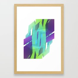 Cool Abstract Framed Art Print