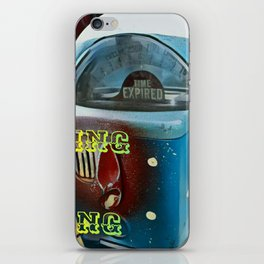 Time Flies - Get Busy Living! iPhone Skin