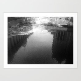 Milwaukee River (Day) Art Print