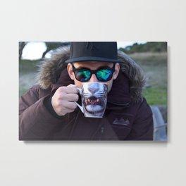 beast coffe Metal Print