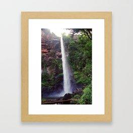 """Bridal Veil Falls "" by ICA PAVON Framed Art Print"