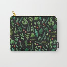 Green garden at nigth 3 Carry-All Pouch