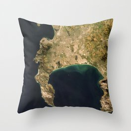 Cape Town, South Africa Throw Pillow
