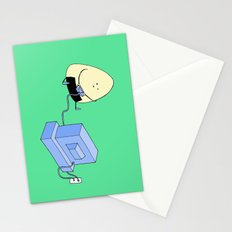 Onigiri video games! Stationery Cards