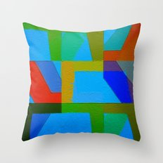 Colorful Truth. Sky Throw Pillow