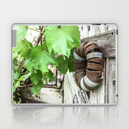Rusty Wreath Laptop & iPad Skin