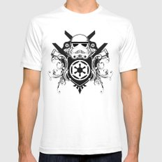 Storm Trooper Coat of Arms SMALL White Mens Fitted Tee