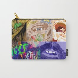"""""""Faces - Petty"""" by Blackard, Boehm, Fiche, Livengood, & McCarthy Carry-All Pouch"""