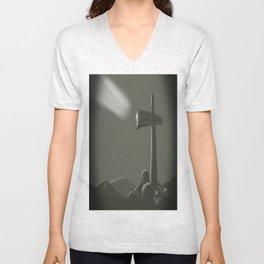 Inspired Cross Unisex V-Neck
