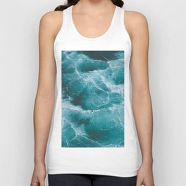 Electric Ocean Unisex Tank Top