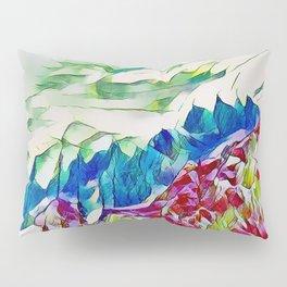 Crystal Summer Mountains Pillow Sham