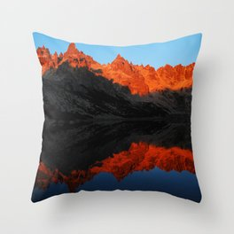 Refugio Frey // Argentina Throw Pillow