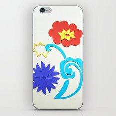 Garden Lightning Papercut iPhone & iPod Skin