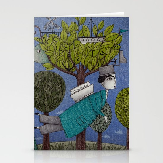 The Reading Tree Stationery Cards