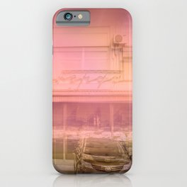 Red tavern iPhone Case