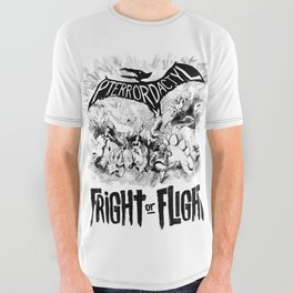fright or flight All Over Graphic Tee