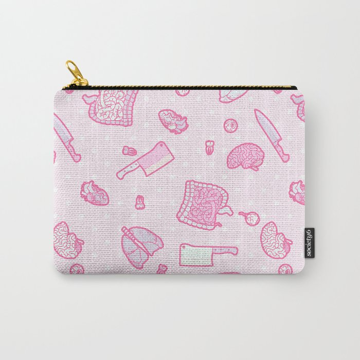 Sweet Yandere (Pink) Carry-All Pouch